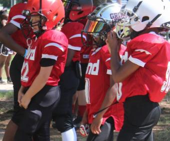 Sports y más deportes va al Football Americano con los niños